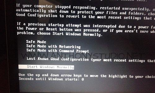 troubleshooting windows xp startup